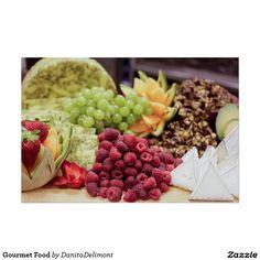 Comida de gourmet poster
