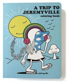 Un viaje a Jeremyville Coloring Book