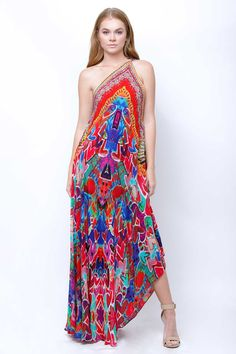 Halter Strap Dresses [Charity Red Heart Print] Up to Off - Shahida Parides® Wiccan Clothing, Tropical Dress, Scarf Dress, Maxi Dresses, Summer Dresses, Beautiful Gowns, Chic Outfits, Boho Fashion, Sexy