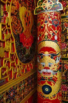 Door. Tibetan Art.  by Luis Castañeda on 500px
