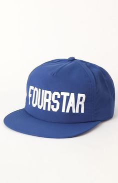 9479ce34553 Fourstar League Nylon Snapback Hat  pacsun