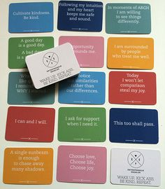 Wisdom Cards are a great stocking stuffer. These are uplifting affirmation cards that will keep your yoga practice on track.