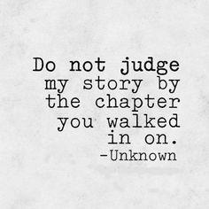 Dont judge my story Más