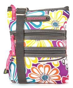 Another great find on #zulily! Dandelion Mini Multi-Section Crossbody Bag by Lily Bloom #zulilyfinds