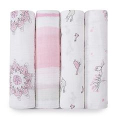 http://www.kidstoysonlineshopping.com/category/aden-and-anais/ aden + anais Classic Muslin Swaddle Blanket For The Birds, 4 Count