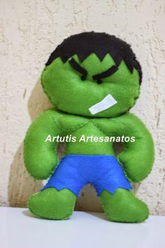 molde do hulk em feltro - Pesquisa Google