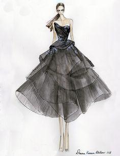 Design inspiration for Greta Gerwig's Golden Globes gown