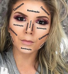 Outstanding Makeup inspiration info are readily available on our website. Read more and you wont be sorry you did. Contour Makeup, Blush Makeup, Glam Makeup, Beauty Makeup, Hair Makeup, Highlighting Contouring, Makeup Shop, Professionelles Make Up, How To Make Hair