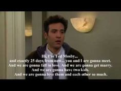 ▶ John Swihart- You're all alone (Ted Mosby Speech)