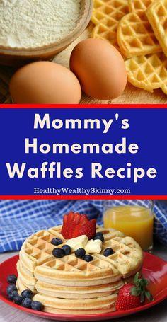 Homemade waffles | T