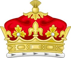 Coronet of a Child of a Daughter of the Sovereign