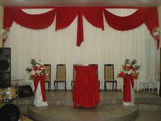 Decoração de Festa de Igreja Evangélica
