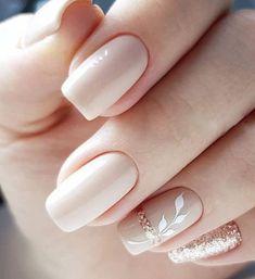 50 Cute Nail Art Designs for Short Nails 2019 Nails - acrylic nails - coffin nails - natural nails - Cute Nail Art Designs, Beautiful Nail Art, Gorgeous Nails, Elegant Nail Art, Easy Nail Art, Cool Nail Art, Cute Nails, My Nails, Fall Nails