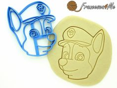 Chase Cookie Cutter Paw Patrol/Multi-Size by Francesca4me on Etsy Message for more info.