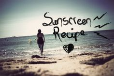 DIY: Natural Sun Block? One of the easiest recipes on the face of the earth! Uses hemp seed oil.