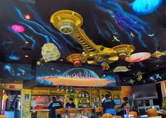 Fun place to eat in Sedona....The Red Planet Diner - Sedona, Arizona
