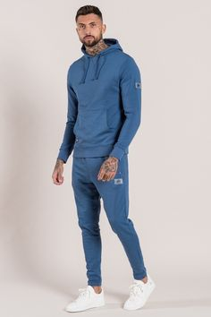 370032c33ad Core Overhead Hoodie - Stone Blue Core Sweatpants - Stone Blue