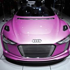 Pink Audi! Pink Cars, Pink Trucks, Pink SUV, Pink Jeep, pink convertible, Pink limo, Pink Hummer