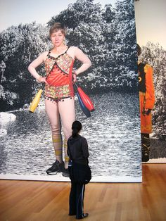#CindySherman looks back, from Cindy Sherman Career Retrospective at The Museum of Modern Art, New York