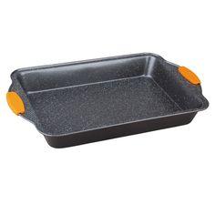Tava pentru cuptor dreptunghiulara 40x25 cm cu manere din silicon Granit Diamond Line Berlinger Haus BH 1139-big Griddle Pan, Shape, House, Grill Pan