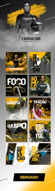 Midias Sociais | Cardiocore on Behance