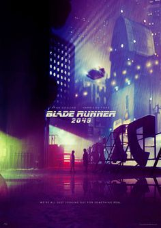 A poster design by Andrew Jones for the Bladerunner Competition