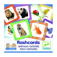 Szóképek, Flashcards Állatok oktató játék 4 éves kortól - Djeco