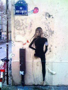 ckb_La femme unijambiste by Erick_ckB, via Flickr