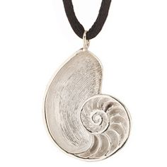 69315382f Beach and Sea Jewelry - S/S The Nautilus Pendant | Handmade Jewelry | JH