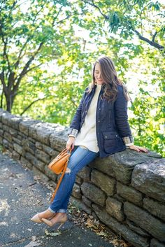 monogram barbour quilted beadnell navy jacket covering the bases barbour beadnell navy quilted jacket fall preppy look covering the bases fall fashion 2017 fall fashion outfits 2017 pinterest cute fall fashion outfits tumblr fall fashion 2017