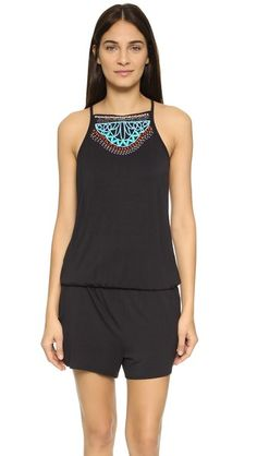 I'm newly in love with rompers, doesn't need a necklace because one is almost built-in. Maybe could do better...