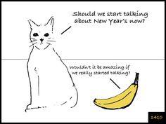 Cat and Banana episode 1410 http://www.facebook.com/catandbanana