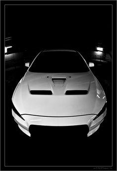 Mitsubishi Evo + Wide Angle Lens