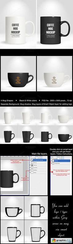 Coffee Mug/Cup Mocku