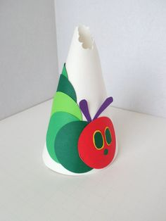 The Very Hungry Caterpillar Party Hats