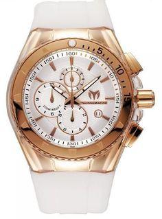 Technomarine Star Silver Rose Gold Stainless Ladies Watch 110050 BY Technomarine