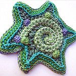 green-spiral-star-4650 por freeform by prudence