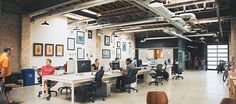 would love to design workspaces for companies like this!  design credit:  lloyd architects