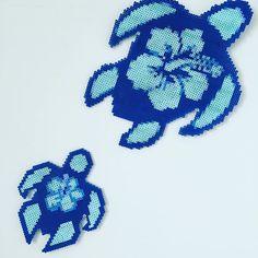Turtles perler beads by littlelamb579