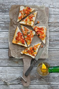 Tomato and Cheese Toast by Aisha Yusaf on 500px
