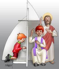 Resultado de imagen para sacramento de la confesion para niños