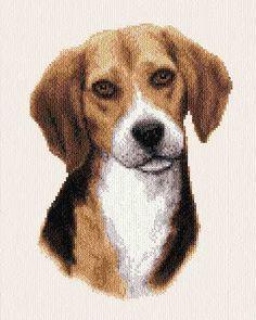 Snoopy - cross stitch pattern designed by Marv Schier. Category: Dogs.
