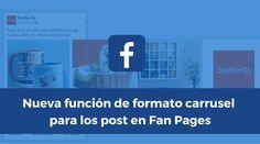 Facebook sigue probando nuevas funciones en las Fan Pages, ésta vez una vista de imágenes carrusel en los posts.