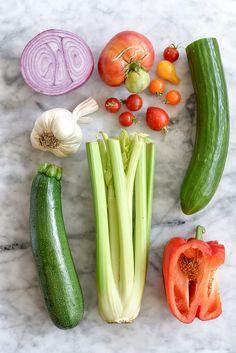 "Classic Gazpacho Plus 5 More That'll Make You Say ""WOW!"" | foodiecrush.com"