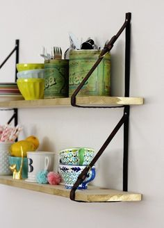 DIY Shelves: 5 Sleek DIY Shelf Storage Projects Under $50