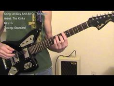 All Day And All Of The Night - (Guitar Lesson)