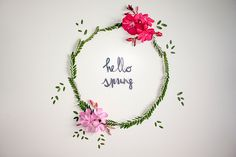 Decorare una semplice tabella con fiori di campo - All bella festa