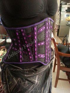 Delicate Facade Corsetry heavy-duty summer mesh corset, starts at $510 | Mesh Corsets, Lucy's Corsetry