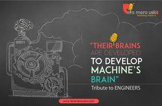 Internet Marketing Ahmedabad  Their Brains Are Developed To Develop Machine's Brain #EngineersDay #teramerauska #DigitalMarketing https://youtu.be/5AdnOYUhILQ   For More Details:  Url  : www.teramerauska.com Email: connect@teramerauska.com Phone: +91 98259 00503