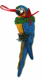 55 best Holiday Christmas parrot ornaments images on Pinterest ...